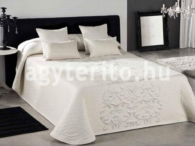 PIANO fehér ágytakaró - Ágytakaró és ágyterítő webáruház a799467087