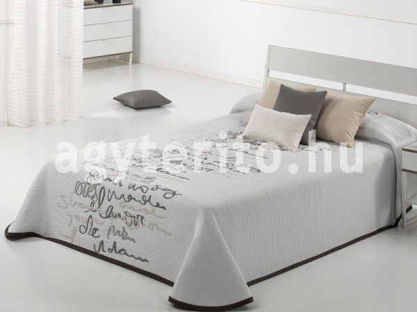 LETTER C01 ágytakaró fehér