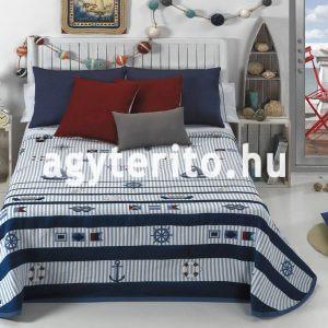 BAHIA kék hajós ágytakaró