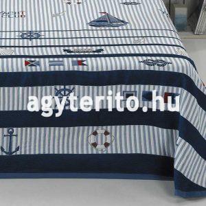 bahia kék ágytakaró közeli
