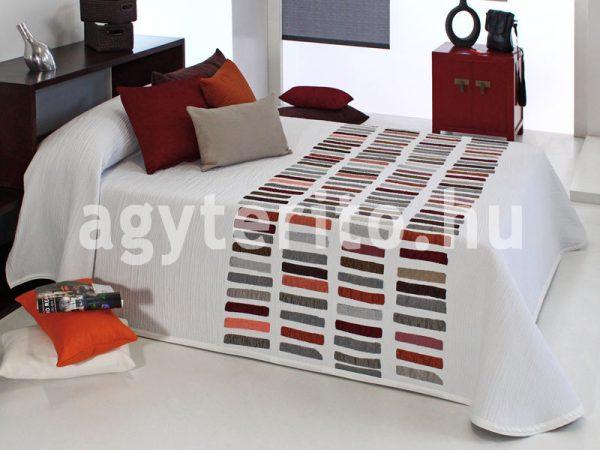 CHAPLIN fehér ágytakaró C01
