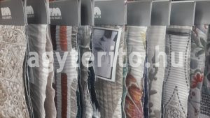 Ágyterítő minták az üzletünben