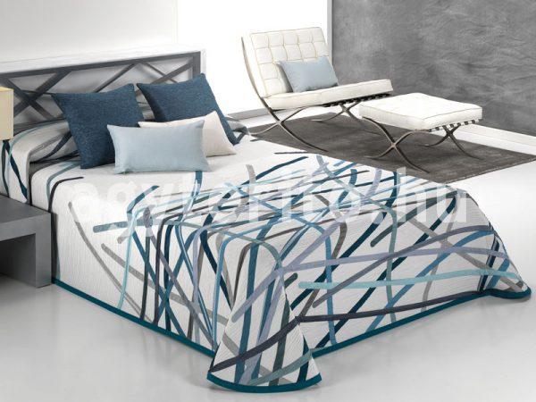BASTIAN-03 türkiz ágytakaró