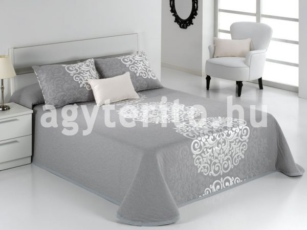 PRESLEY ezüst ágytakaró