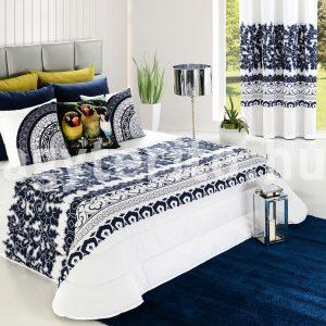 adam ágytakaró 250cm kék