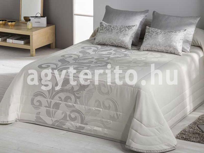 DONATELLA ezüst ágytakaró C10 - Jacquard mintával - Ágytakaró 80f65bbc0a