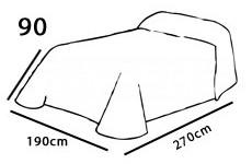 190-es ágyterítő
