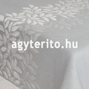 Perline ágytakaró ezüst közeli