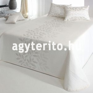 perline ágytakaró ekrü fehér
