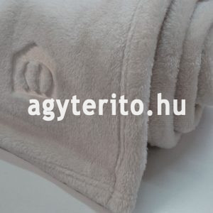silky pléd ágytakaró fehér henger