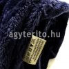 silky takaró pléd kék c08 tekercs cimke