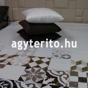 bryan barna ágytakaró c05 párnával