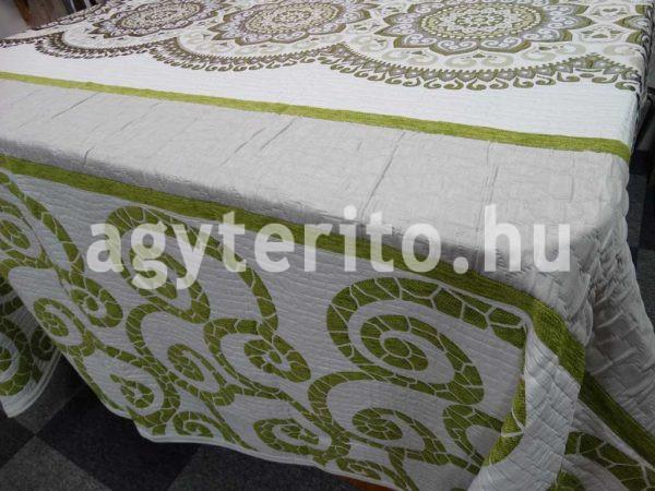 MISOURI zöld ágytakaró zoom