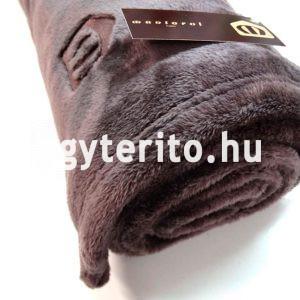 SILKY pléd takaró barna tekercs