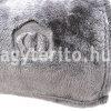 silky szürke pléd takaró minta