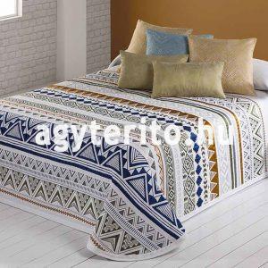 ZOE kék-arany ágytakaró