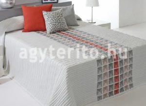csempe mintás ágytakaró