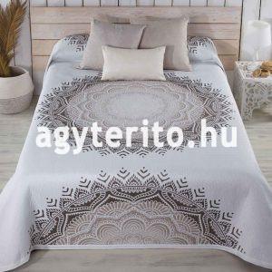 mandala ágytakaró bézs c01