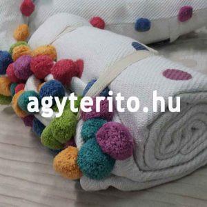 OTELO pléd takaró fehér 2