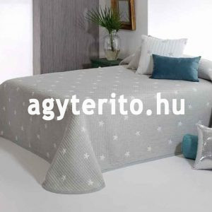 kirby ágytakaró szürke