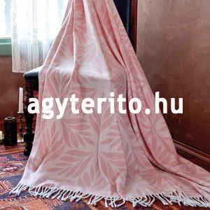 Zermatt pléd takaró leveles - székre terítve