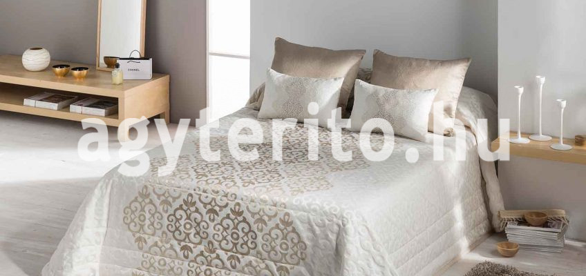 karácsonyi ágytakaró bellini arany