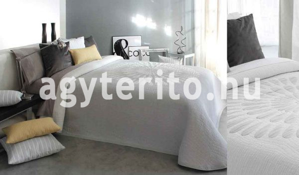 Brandy ágytakaró megfordítható fehér