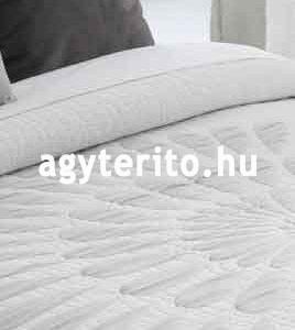 Brandy ágytakaró megfordítható fehér - fordítva