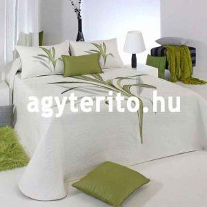 Lynette ágyterítő C04 zöld ágytakaró
