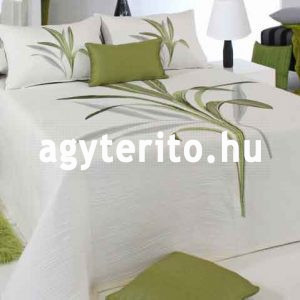 Lynette ágyterítő C04 zöld ágytakaró zoom