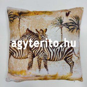 Szafari zebra díszpárna